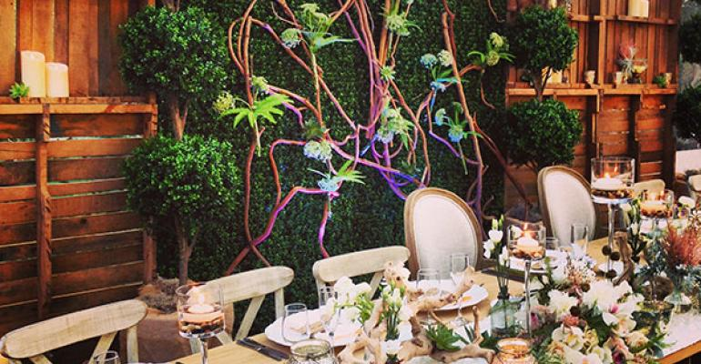 Rustic Garden Wedding: Designs by Sean Puts Romance into Rustic