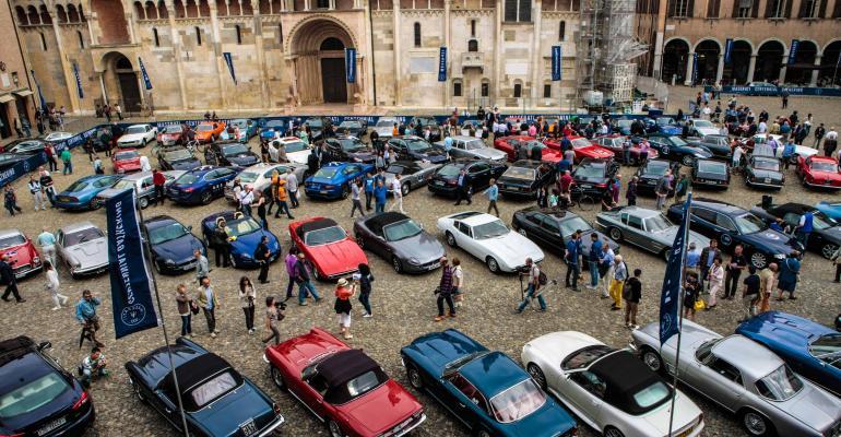Maseratis 100th anniversary celebration from Filmmaster Events