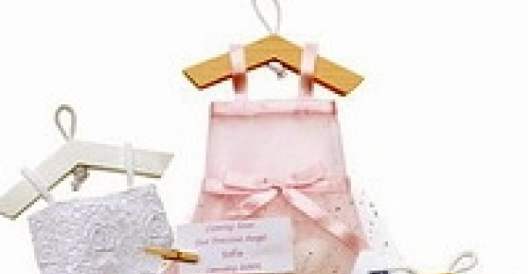 Tiny Dresses as Party Favors