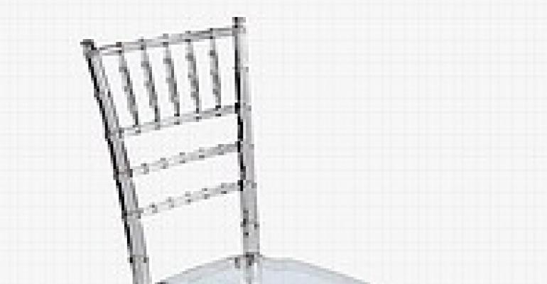 Clear Chiavari Chair Available from OC Designs