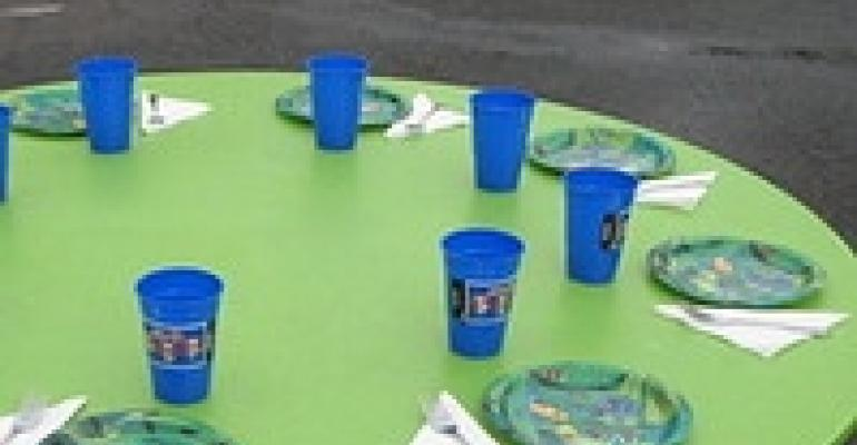 New Colors in Elasticized Table Covers