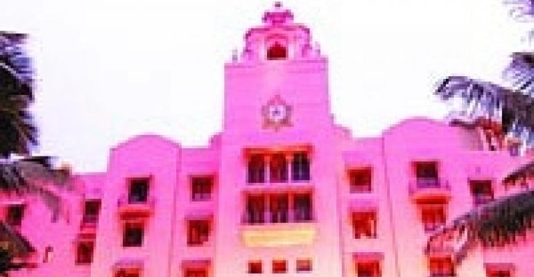David Beahm Creates Pink-theme Event for Royal Hawaiian Hotel