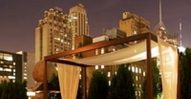 Roosevelt Hotel's Rooftop Lounge Adds Indoor Option