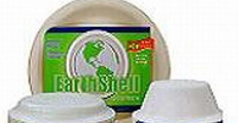 EarthShell Offers Eco-friendly Single-use Dinnerware