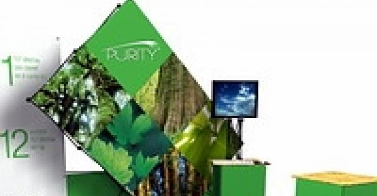 Go Green Develops Completely Recyclable Display Unit