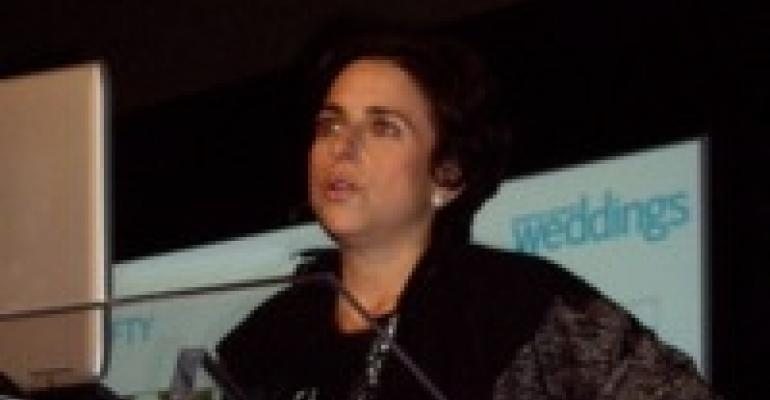 Wedding Expert Darcy Miller Addresses Wedding Luncheon at The Special Event 2010