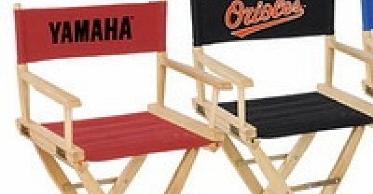 Logo'd Director's Chairs, Centerpiece Supplies, Custom Wedding Cake Toppers