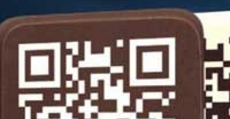 """QR"" Chocolates, New Photo Upload App, Pretty Arch Styles"