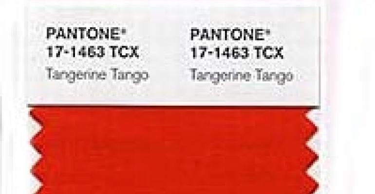 """""""Tangerine Tango"""" is Color of the Year for 2012, Experts Say"""