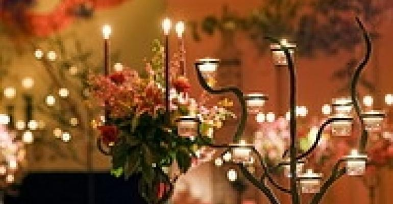 Branching Out: Wrought Iron Candelabra for Special Events