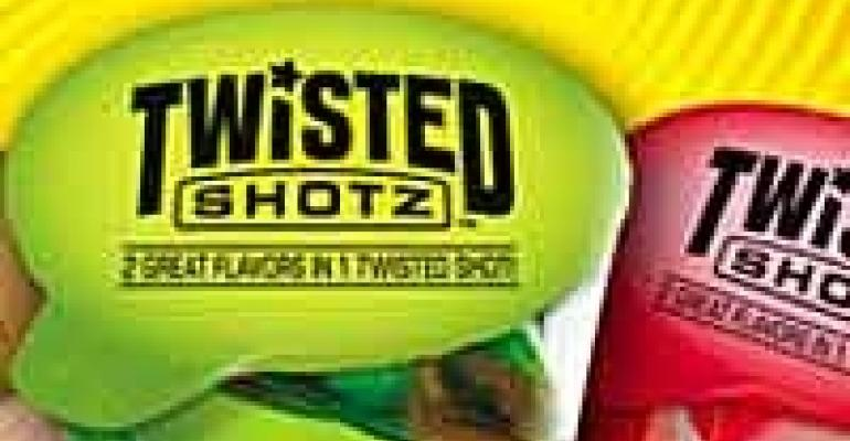 Twisted Shotz Cocktails, 'Frank' Chair, Illumination for Buffets