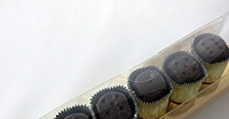 Chocolate 'Dice,' Confetti Launchers, Versatile Ceramic Food Pans