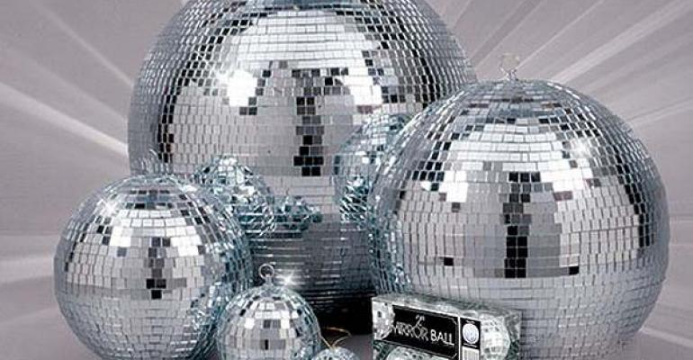 New Mirror Balls, Chair Covers with Pockets, Plastic/Foil Food Wrap