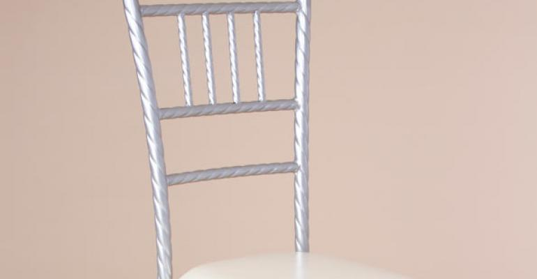 New 'Twisted' Chiavari, Fundraising Program, Felt Protector Pads