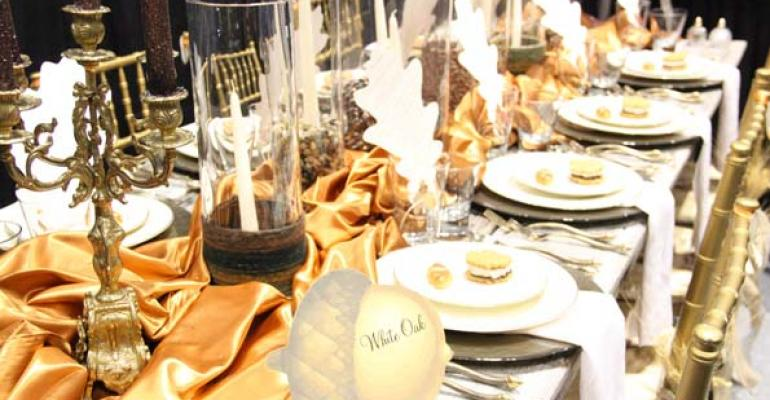 quotAutumnquot tablescape by A Magical Affair Franklin Tenn a finalist at The Special Event 2013 in Chicago Photo by Special Events