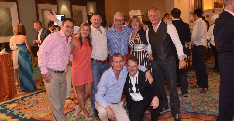 Esprit Award ceremony attendees gather to celebrate the succsses of their peers at ISES Live 2013 in Nassau in August