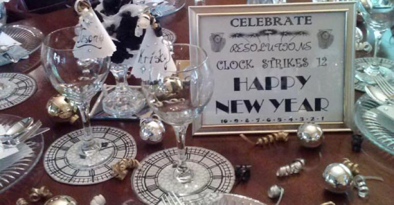 A preview of the tabletop quotClock Strikes 12quot from Bakes and Creates in Branchburg NJ
