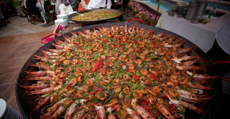 A dramatic presentation of paella from Jennifer Naylor