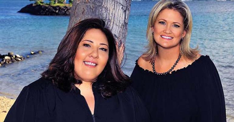 Tatiana von Oelhoffen left and Colleen Reyes have launched DMC Island Style Innovations in Honolulu
