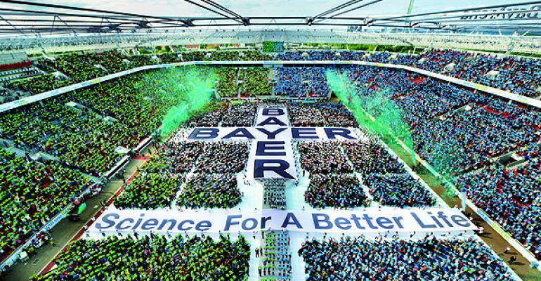 Vok Dams Helps Bayer Celebrate the Big 1-5-0