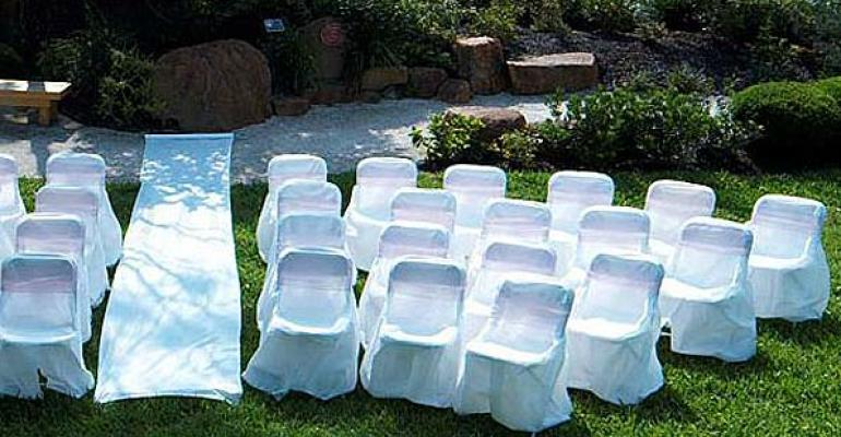 New Disposable Chair Covers, Folding Screens, Entrance Tunnel