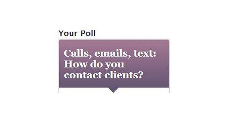 Email is No. 1 for Contacting Clients, Special Event Pros Say