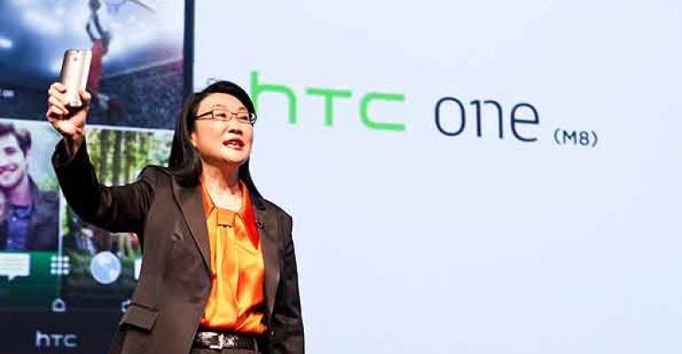 HTC cofounder Cher Wang at the London media event from SSG Create Photo by Red Photography