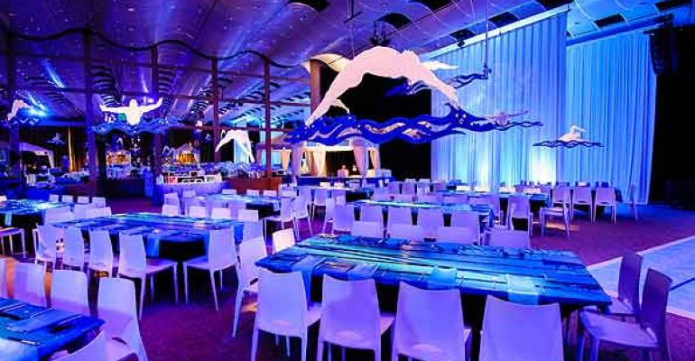 An elegant poolthemed bar mitzvah for a young swimmer from Creative Occasions and Events and Newberry Brothers Photo by Eric Stephenson Photography