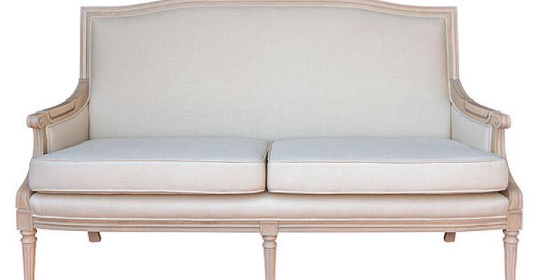 Classic Party Rentals Provence sofa