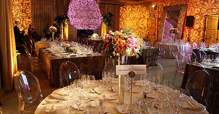 AOO Events creates a 39Modern Baroque on Steriods39 look at the Resort at Pelican Hill for SITE