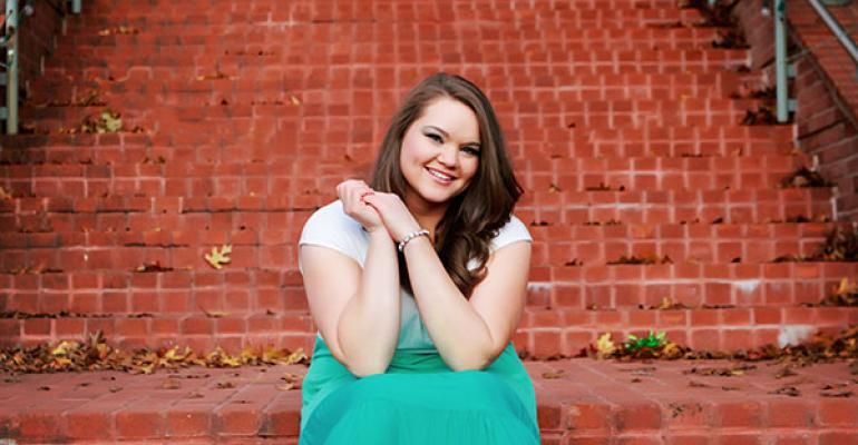 Aubri Nowowiejski of the Student Event Planners Association