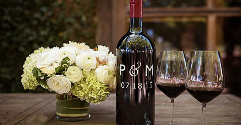 custometched wine bottles