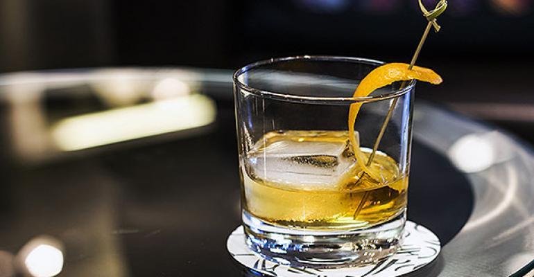 Fairmont the Queen Elizabeth oldfashioned cocktail