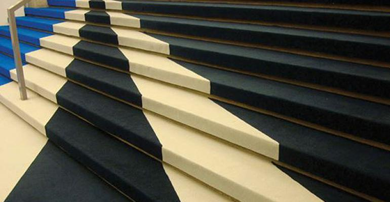 Custom carpet from American Turf and Carpet