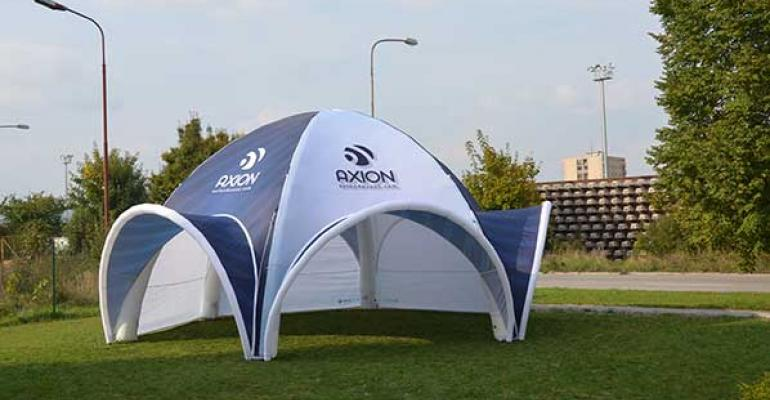 Axion Spider tent