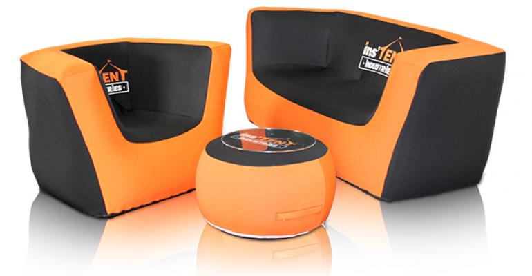Instent inflatable furniture