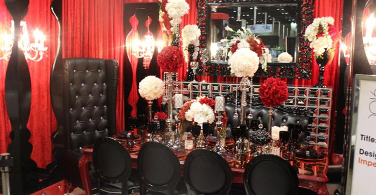 The Design Gallery 2016 winner 39Baroque Gone Bold39 by Imperial Event Rentals Miami