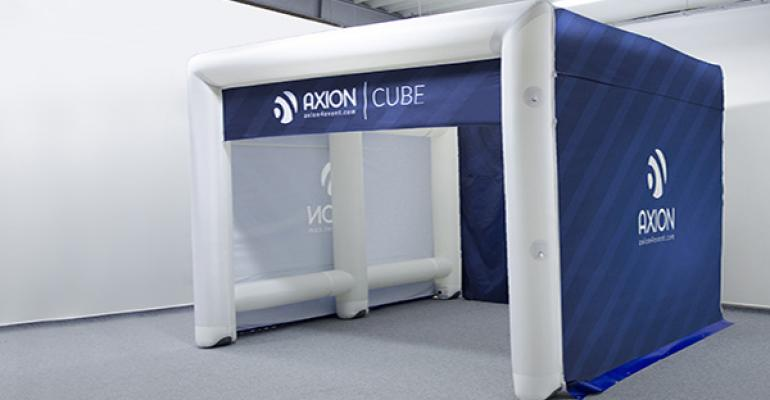 Axion 'Cube' Tent New from Stretch Marquees