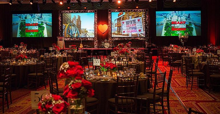 Tolo Events uses dramatic video screens at events