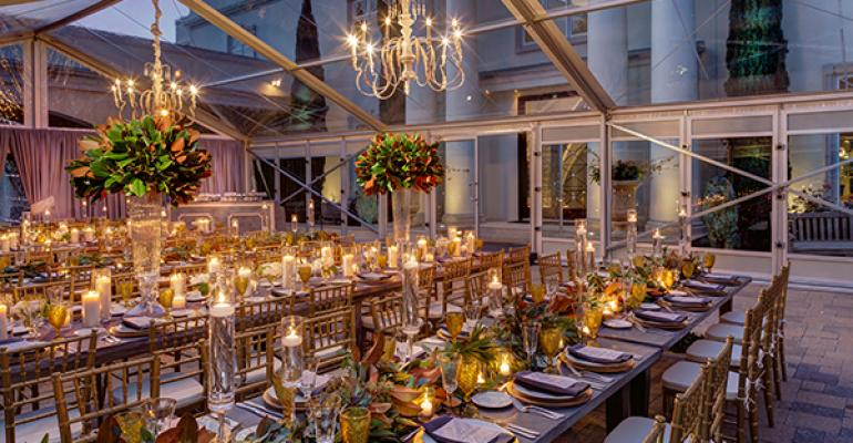 An elegant event from Marquee Event Group based in Austin Texas