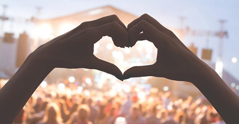 big music festival