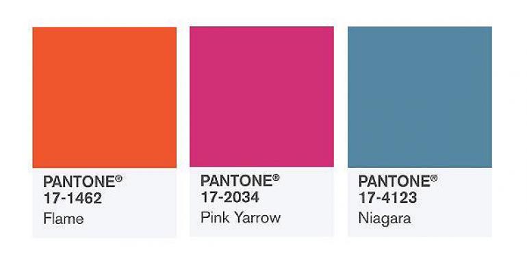 Pantone 2017 top colors