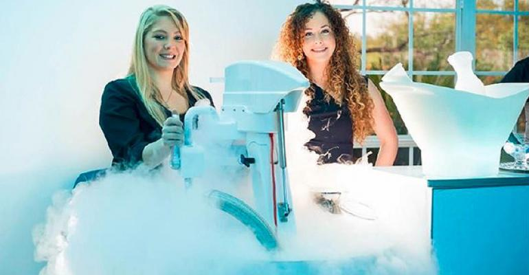 Frost 321 Experience Creates Instant Frozen Desserts, Cocktails
