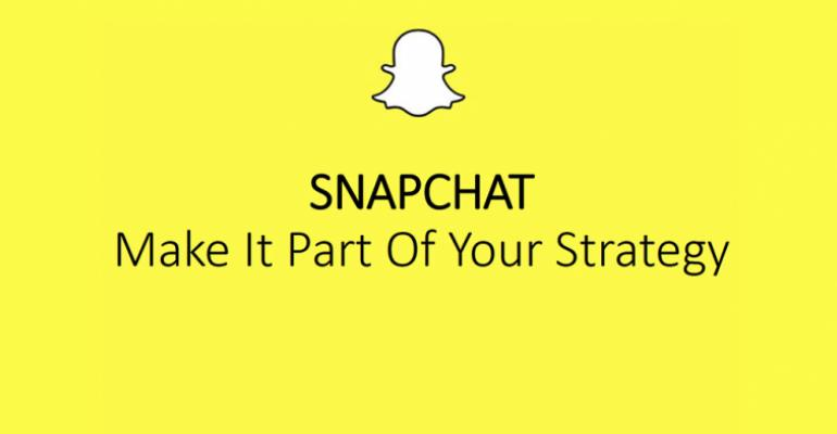 It's a Snap: Why and How to Use Snapchat at Your Events