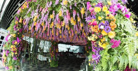 Floral arch from Fiore Dorato