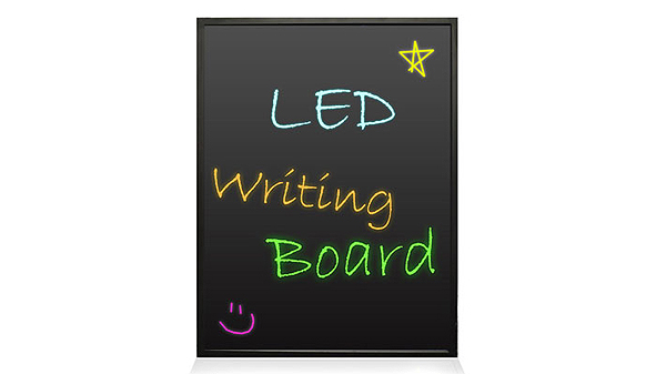 erasable LED illuminated writing board from Pyle Audio
