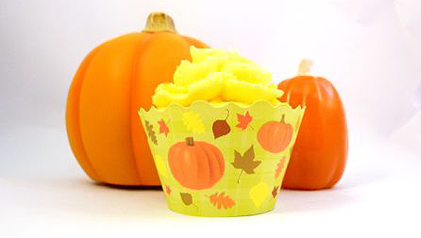 Halloween theme cupcake wrappers