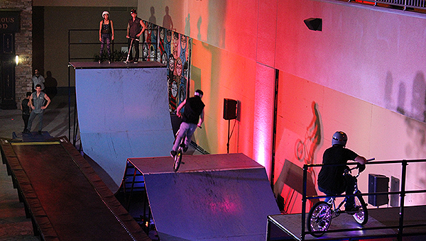 Opening Night Party Halfpipe