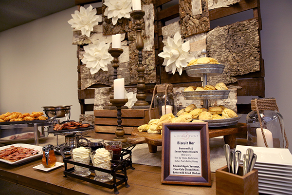 Biscuit Bar from A Divine Event