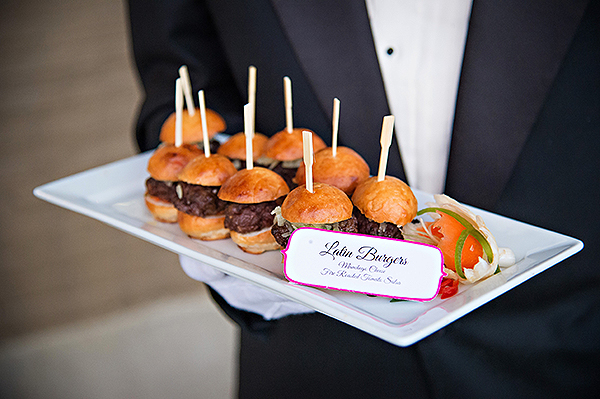 Mini burgers from Legendary Events